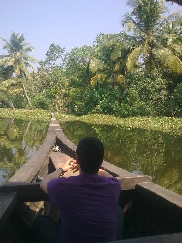 Back Water@Allepey-Kerala