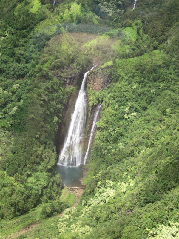 """""""Jurassic Park"""" Waterfall"""