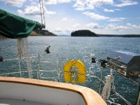 Sailing around the San Juan Islands