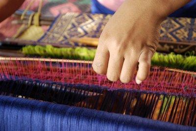 intricate weaving