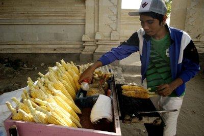 chilli corn street eat - kuta