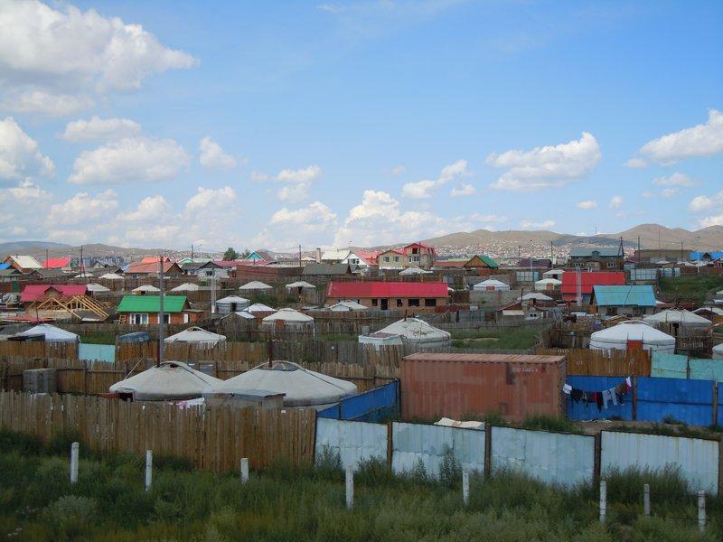 The Suburbs of Ulaanbaatar