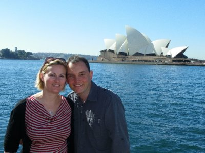 The long awaited Sydney Opera House where we went for a performance!