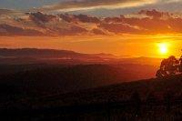 Sunset at Kallista