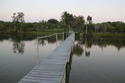 Canal des Pangalanes, end of the day