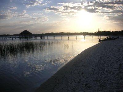 Ampitabe Lake at dawn
