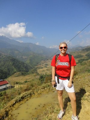Hiking in Sapa Valley