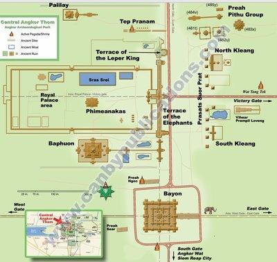 Angkor Wat Map 2