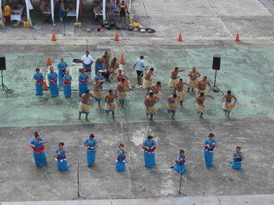5-23a (10) Apia, Samoa port dancers
