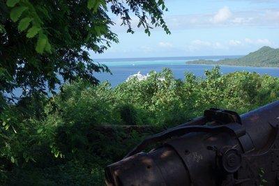 5-27 (16b) Gun Guarding Harbor Entrance