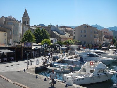 This pleasant town is the first true tourist town I've encountered on Corsica; I heard lots of Italian and German being spoken in addition to French