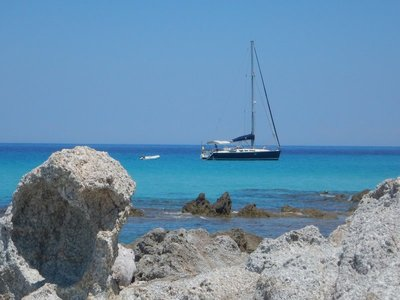 Saleccia Beach was incredibly photogenic; the 25 minute taxi boat from Saint Florent costs 25 euros round-trip