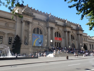 The Metropolitan Museum of Art, built in 1872, anchors the Museum Mile; many of the world's most famous works of art are here in the 2  million sq ft of exhibit space