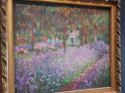 Monet, The Gardens of the Artist at Giverny, 1900
