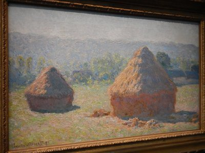 Monet, Haystacks, End of Summer, 1891