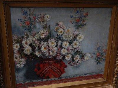 Monet, Chrysanthemums, 1878