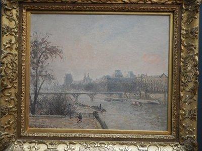 Pissarro, The Seine at the Louvre, 1903
