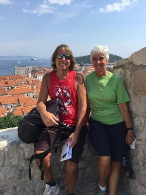 I really enjoyed sharing one of my favorite cities with Marilyn and Dorothy!; it was hot and crowded but the ladies got a good idea of the uniqueness of Dubrovnik