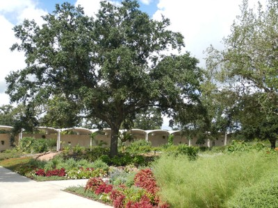 The 132-acre Houston Botanic Garden, carved from the old Glenbrook Golf Course, straddles Sims Bayou just off Interstate 45 at the Park Place exit (on the opposite side from Hobby Airport)