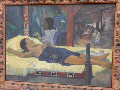 Gauguin, The Birth - Te tamari no atua, 1896