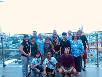 The last night of our month-long tour; this was the best tour group I've ever traveled with!