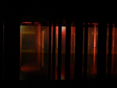 Gary and I visited the Buffalo Bayou Cistern to see the newly commissioned artwork by Albanian-born Anri Sala, Time No Longer; the cistern is open for art tours, historical tours and a weekly meditation group on Saturdays