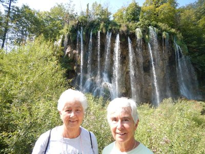 The new toll road cut travel time from Zadar to 2 hours so I was excited to show Marilyn and Dorothy Plitvice National Park, Croatia's oldest,  on their cruise stop