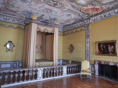 Imperial bedroom of the Electoral Princess; the palace complex here is among the largest and most impressive of the Wittelsbach dynasty's residences in Bavaria
