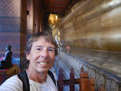 The world's largest reclining Buddha is the highlight of Wat Pho; this temple also has the largest collection of Buddha images in Thailand (no easy feat!)