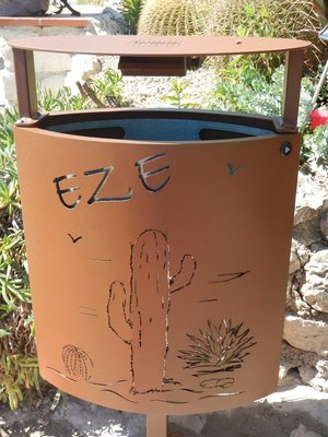 How could you not love a place that has such awesome municipal trash receptacles?