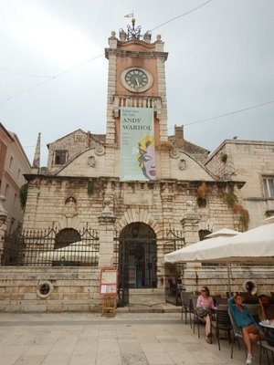 The 13th century, late Renaissance City Sentinel is a popular place for locals to meet; Zadar is not as large as you might think and you can see most of the sights in an hour