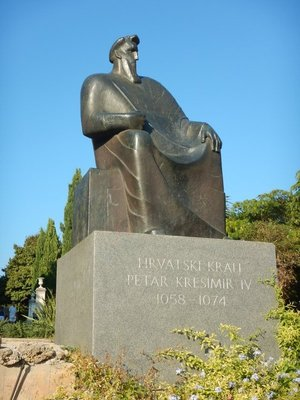 Peter Kresimir the Great is credited as founding Sibenik in 1066; while he was king, the Croatian realm reached its peak in terms of territory