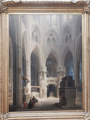 Ainmiller, The Choir of Westminster Abbey and the Tomb of Edward the Confessor, 1851