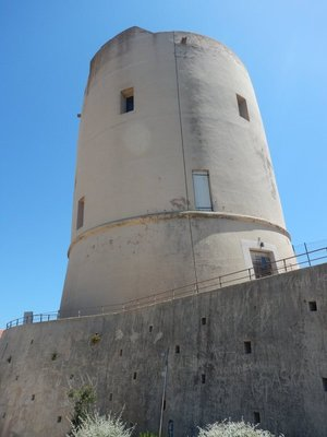This 115 ft lookout tower was built in 1484 and reconstructed in 1980; there are still quite a few buildings nearby that are awaiting rehabilitation