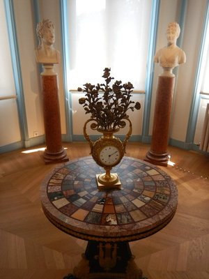 Marble Table, 1814; hotels are expensive so I stayed in the more affordable 16th within walking distance of the Musee Marmottan