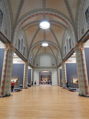 The Gallery of Honor conveniently has most of the museum's famous works all in one place; The Night Watch is at the far end of the gallery