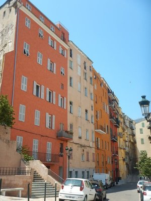 Bastia could be on the Italian Riviera except it has no decent beach; the beaches are all well away from the town center