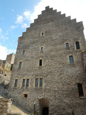 The Stolzembourg House was erected in 1384; it's just crazy to think how old all of this is!