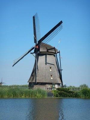 The windmills became a UNESCO World Heritage Site in 1997; the two windmill museums were pretty underwhelming