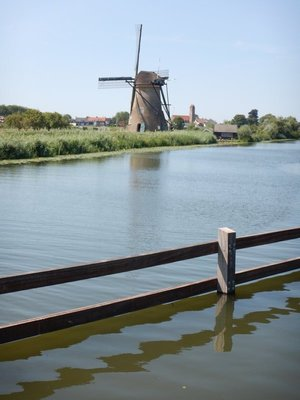People live in some of the windmills; there's a long wait list but the rent is relatively low provided you properly maintain the windmill and small patch of land that goes with it