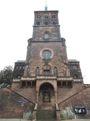 The consecration of St. Adalbert's Church took place in 1005; it was badly damaged in World War 2 but has been rebuilt