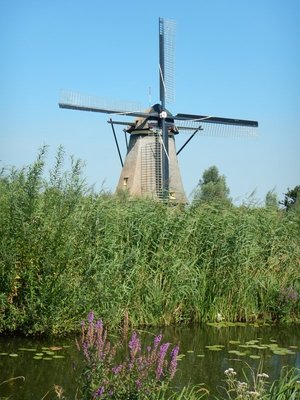 The windmills were used during World War 2 when fuel for the pumping stations became too expensive or was not available