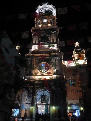 Church of our Lady of Guadalupe; December 12 is a national holiday celebrating the Virgin of Guadalupe; parades, street food and lots of people in PV since the main church here is named for the virgin