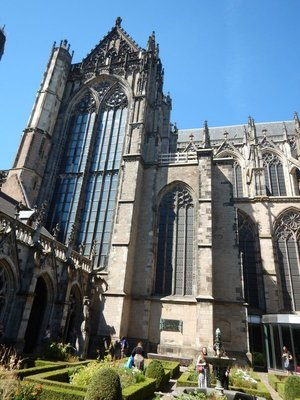 When the cathedral was completed in the early 1600s it was the largest church in the Netherlands; you can also go underneath the church to see remains of prior structures