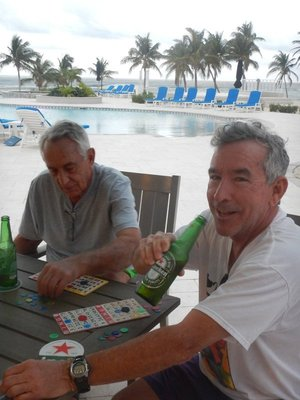 Enjoying afternoon beverages and playing bingo; the Cayman Islands is the 5th largest banking center in the world