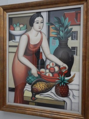 Metzinger, Woman with Pheasant, 1926; the Kroller-Mullers bought 11,500  works of art, one of the largest private collections of the 20th century