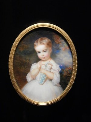 I would love to see how someone created these miniature paintings and enamels before modern technology; they contain such minute details!