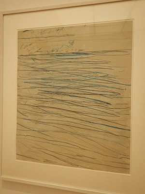 I simply couldn't find anything to appreciate in the work of Cy Twombly; how did an artist become famous, and his works pricey, for creating such scribbles?