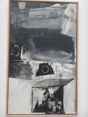 Rauschenberg, Vault, 1962; the artist was born in Port Arthur, TX and died on Captiva Island, FL