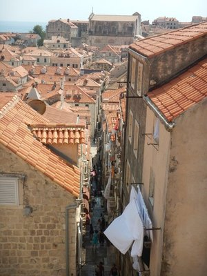 To visit Dubrovnik you have to be prepared for steps, lots of them; Rick Steve's says Dubrovnik is a living fairy tale that shouldn't be missed